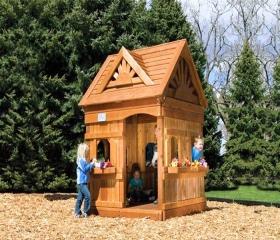 Детский домик-беседка