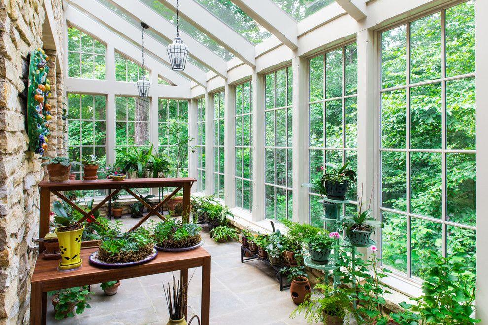 Оранжерея в частном доме своими руками